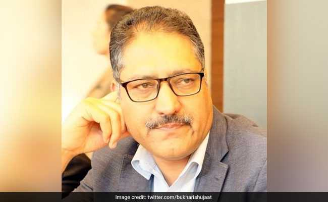 Senior Kashmir Journalist Shujaat Bukhari Shot In Srinagar, Injured