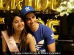 Shweta Tripathi's Fiance Chaitanya Crashes Her Bachelorette, Makes Up With Cute Caption