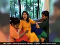 Inside <i>Masaan</i> Actress Shweta Tripathi's <i>Mehendi</i> Ceremony