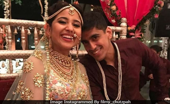 Masaan Actress Shweta Tripathi Marries Rapper Chaitnya Sharma In Goa. See Pics