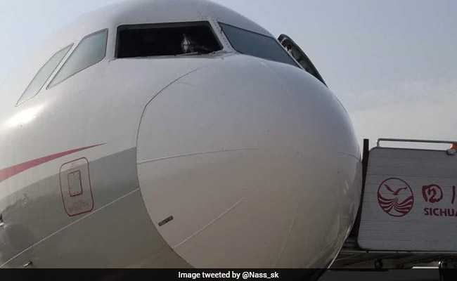 Sichuan Airlines Jet Makes Emergency Landing After Cockpit Windshield Breaks Off