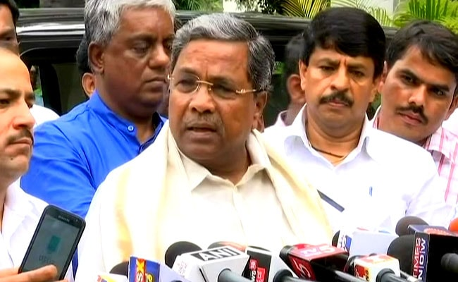 Draft Of Karnataka Governance Roadmap In 10 Days, Says Siddaramaiah