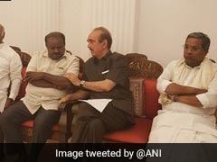 Amid Karnataka Deadlock, Ghulam Nabi Azad Raises Horse-Trading Concerns