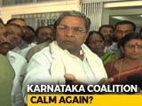 Video : After Congress's Damage Control, Sulking Siddaramaiah Falls In Line