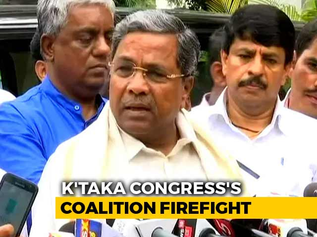 Video : In Sulking Siddaramaiah, A New Test For Congress In Karnataka