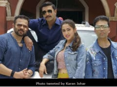 <I>Simmba</I>: Ranveer Singh, Sara Ali Khan Are All Set. Glimpses Of Day 1