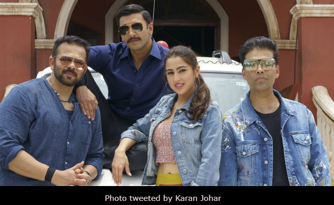 Simmba: Ranveer Singh, Sara Ali Khan Are All Set. Glimpses Of Day 1