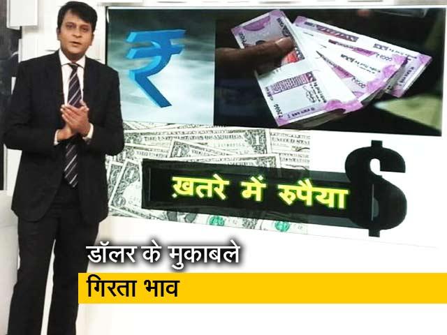 Videos : सिंपल समाचार : खतरे में रुपया