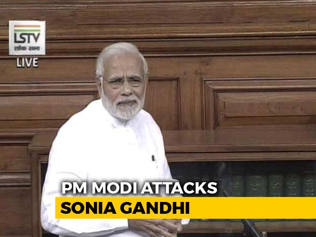 "Video : ""What Arrogance,"" Says PM On Sonia Gandhi's '272' Remark"