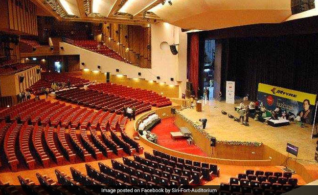 Fire Breaks Out At Delhi's Siri Fort Auditorium