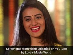 Raksha Bandhan: भोजपुरी एक्ट्रेस अक्षरा सिंह ने रक्षा बंधन पर भाई के लिए गाया गाना, वायरल हो रहा Video