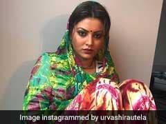 अनुष्का शर्मा की तरह उर्वशी रौतेला ने भी पहनी साड़ी, यूजर्स ने यूं बनाया मजाक