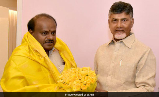 Andhra Pradesh, Karnataka Chief Ministers Meet Over Regional Parties