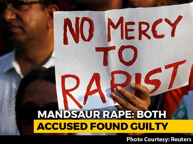 Video : 2 Men Get Death For Mandsaur Child's Rape, Trial Done In Under 2 Months