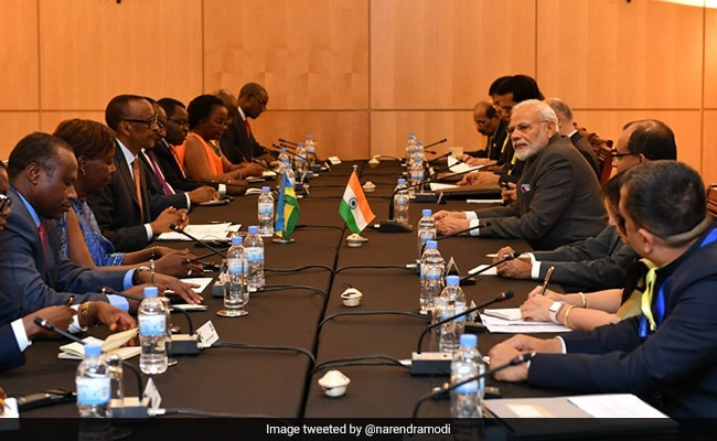 PM Modi embarks on three-nation tour to Africa