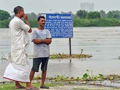 Yamuna Water Level Inching Towards Danger Mark In Mathura