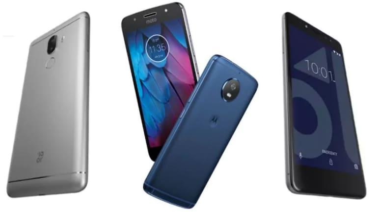 4 जीबी रैम वाले स्मार्टफोन जिनकी कीमत है 10,000 रुपये से कम