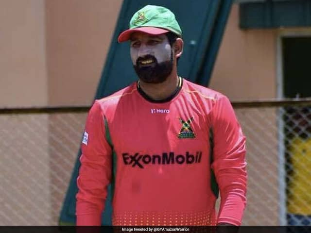 CPL 2018: Sohail Tanvir Makes Obscene Gesture After Dismissing Ben Cutting, Sparks Controversy