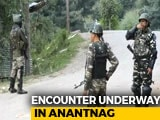Video : Terrorist Killed In Encounter In Kashmir's Anantnag, Search Operation On