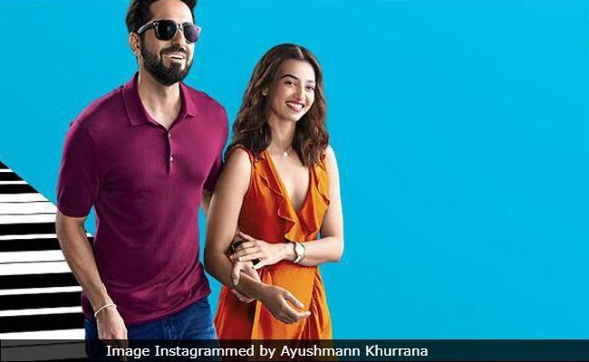 AndhaDhun New Poster: Ayushmann Khurrana And Radhika Apte 'Stumble Upon Love'