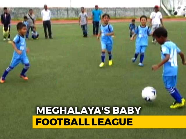 Video : In Football Crazy Meghalaya, A Baby League Is Making It Big