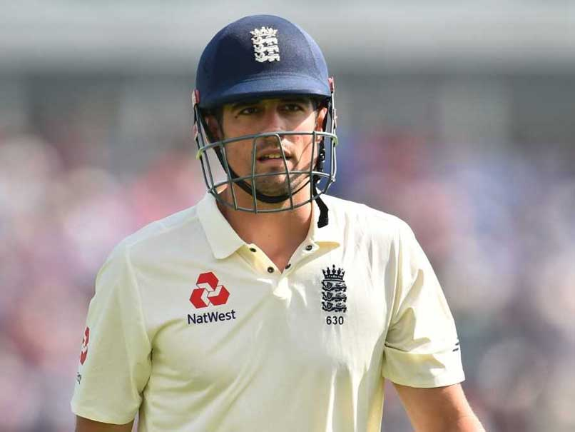 Alastair Cook Reveals 'Biggest Regret' Of His Playing Career