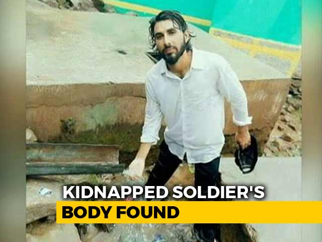 Video : Soldier Abducted From Jammu and Kashmir's Pulwama Found Dead