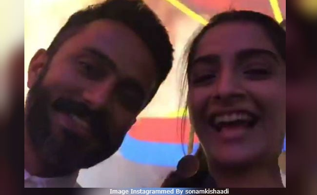 What Sonam Kapoor And Anand Ahuja Do While Hanging Out In Mumbai