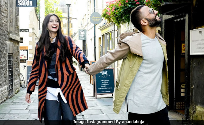 Sonam Kapoor And Anand Ahuja. Just Like This, Forever