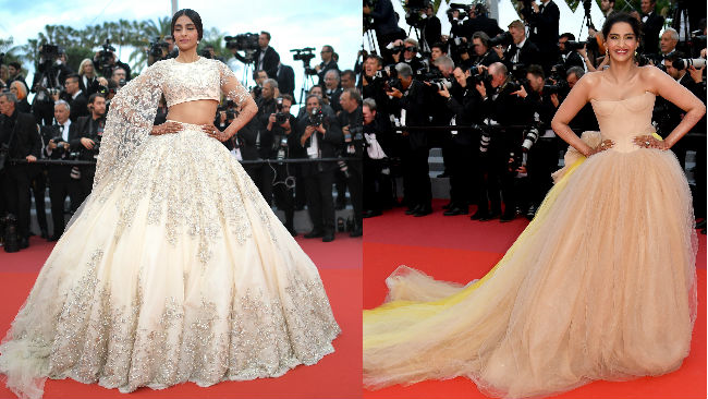 sonam cannes afp