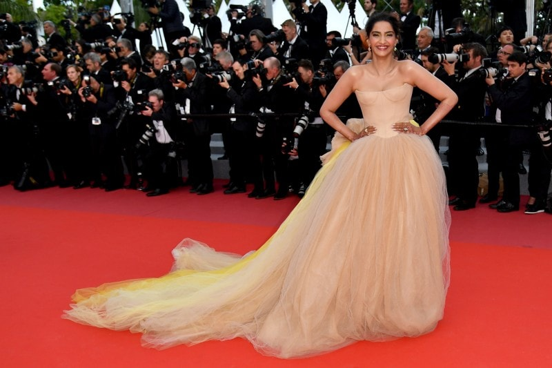 sonam cannes day 2