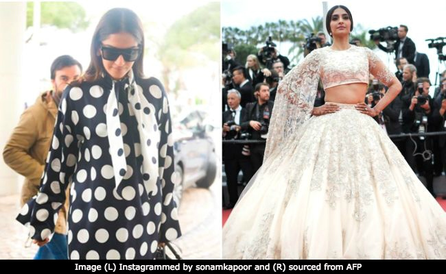 Cannes 2018: Sonam Kapoor Makes A Regal Start, From Classic French To Desi Girl