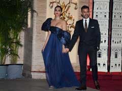 An Ultra-Glam Party Was Held For Sonam Kapoor And Anand Ahuja And Guests Dressed To Impress
