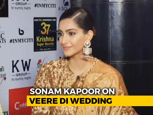 Video : 'My Wedding And <i>Veere Di Wedding</i> Release A Coincidence:' Sonam Kapoor