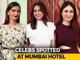 Video : Celeb Spotting: <i>Veere Di Wedding</i> Stars Sonam, Kareena, Swara & Shikha