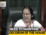 "Video : ""Rahul-Ji Like My Son, But Mother's Job Is To Correct Children"": Speaker"