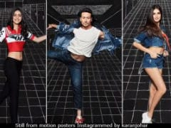 <I>Student Of The Year 2</I> Motion Posters: Ananya Panday, Tara Sutaria, Tiger Shroff Make School Fun Thrice Over