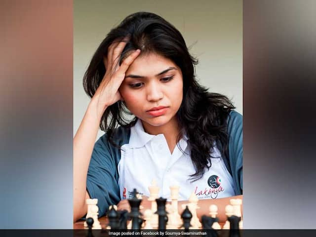 Chess Federation Backs Soumya Swaminathan On Decision To Withdraw From Iran Event
