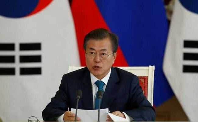 South Korean President Moon Jae-In On 4-Day Visit To India
