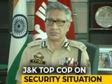 "Video : ""Much Easier"" To Work Under Governor's Rule: Jammu And Kashmir Top Cop"