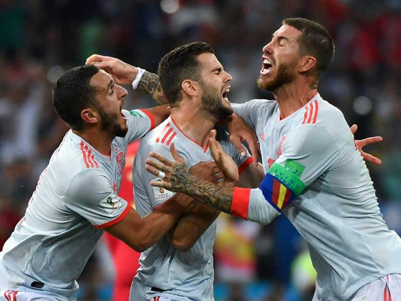 Spain back on track after nervous win over Iran