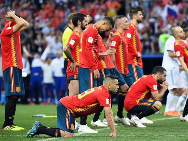 FIFA World Cup 2018: Spain Dumped Out After Losing On Penalties To Russia
