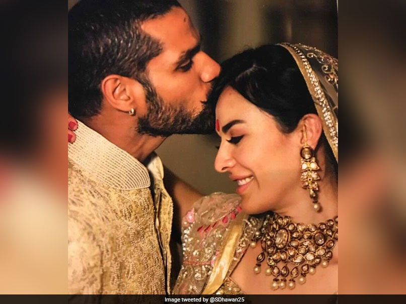 Shikhar Dhawan Marks Wife Aesha