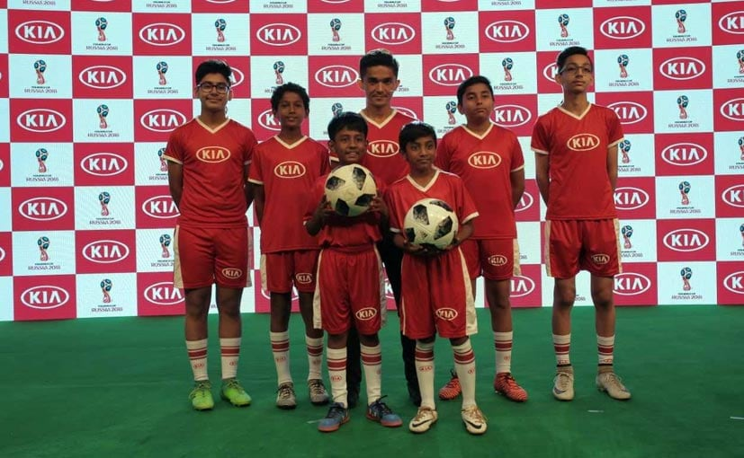FIFA World Cup 2018: Kia Motors Gives India Its First Official Match Ball Carriers
