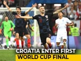 Video : FIFA World Cup 2018: Croatia Enter First World Cup Final, England's Dream Dashed