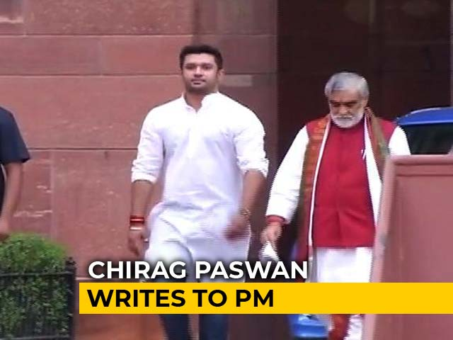 Video : Chirag Paswan Writes To PM, Demands Executive Order To Restore Dalit Law