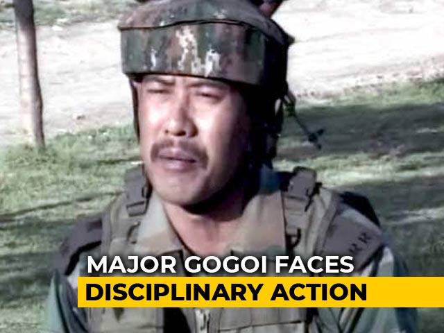 Video : Army Orders Against Officer Over Row Involving Kashmiri Woman