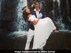 Milind Soman And Wife Ankita Post Another Loved-Up Pic