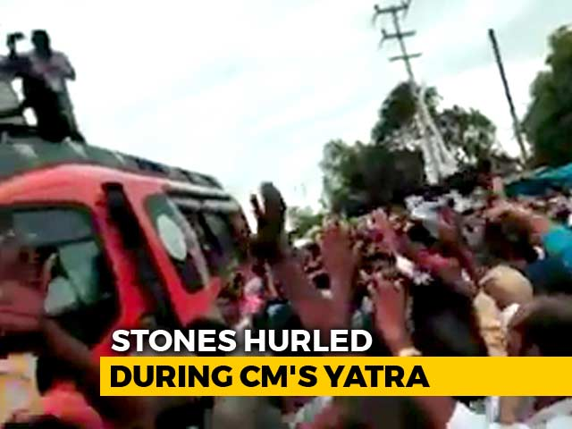 Video : Stones Thrown At Shivraj Singh Chouhan's Vehicle In Congress Constituency
