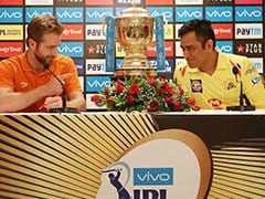 IPL Final Live Cricket Score, Chennai Super Kings vs SunRisers Hyderabad: CSK Win Toss, Opt To Field vs SRH